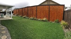 cali bamboo fencing 6ft x 8ft natural 2 inch diameter cali bamboo
