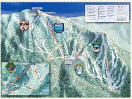 Park City Utah Trail Map by Lake Tahoe California Resort Ski Trail Map