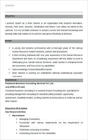 recruiting manager resume template executive hr and admin sle resume template hiring manager