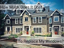 How Much Does It Cost To Replace Kitchen Cabinets How Much Will Replacement Window Cost