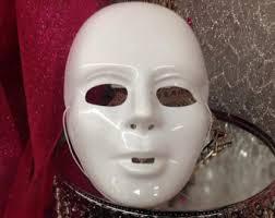 plain mask plain mask etsy