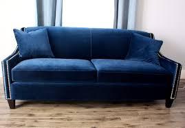 Velvet Sofa Bed Blue Velvet Sofa