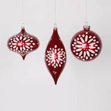 3ct and white glitter burst ornaments 7