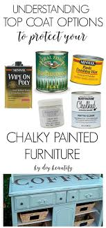 how to seal chalk painted cabinets top coat protection options for chalky painted furniture