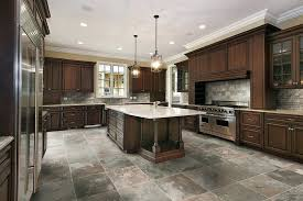 kitchen flooring design ideas countertops backsplash slate tile flooring pictures kitchen
