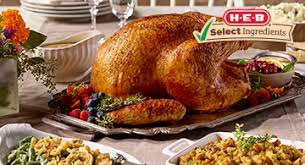 Pre Cooked Turkey For Thanksgiving Meals To Go Order Up In Store Heb