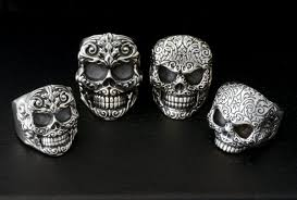 baby king rings images King baby studio on twitter quot king baby floral relief skull rings jpg