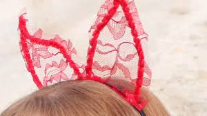 make lace halloween devil horns diy style guidecentral youtube
