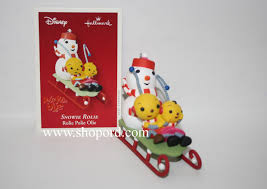 hallmark 2003 disney snowie rolie ornament rolie polie olie qxd2477