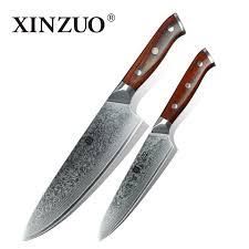 buy kitchen knives aliexpress buy xinzuo 2 pcs kitchen knives set japanese