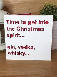 quotes christmas lovers christmas card drink spirit quote alcohol funny christmas xmas
