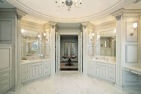 Luxury White Master Bathroom Ideas Pictures Home Stratosphere - Floor to ceiling cabinets for bathroom