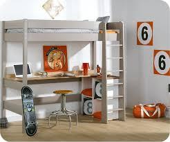 mezzanine chambre enfant chambre enfant avec bureau 1 lit mezzanine enfant clay chambre