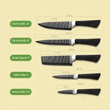 what is a set of kitchen knives kcasa kc 3cr13i 6 pieces 3cr13 stainless steel kitchen knife set