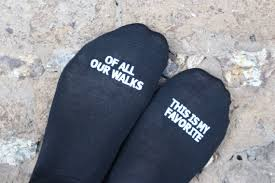 wedding gift or check check out of the wedding socks of all our walks this