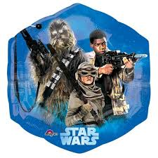 wars balloons delivery large foil wars balloons awakens free delivery