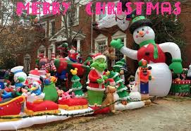 christmas inflatables outdoor outdoor christmas decorations large lowes christmas inflatables