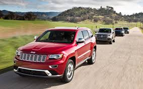 jeep mercedes red luxury diesel suv comparison jeep grand cherokee ecodiesel