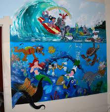 28 fine art wall murals giveaway oopsy daisy fine art for fine art wall murals disney mural painting by robert lettrick