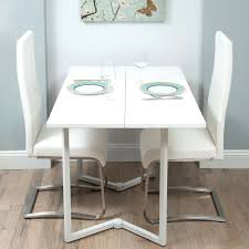fold over leaf dining table fold over dining room table fold over