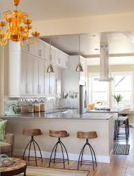 Kitchen Island Wall by Kitchen U Shaped Kitchen Designs With Island Wall Kitchen