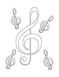 94 music coloring pages images coloring books
