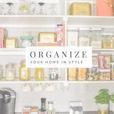 organized home polished habitat combining beauty function for a stylish