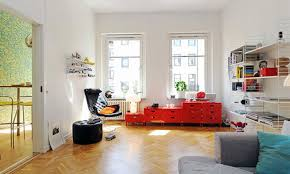 interior design styles for modern bedroom with flat screen tv on