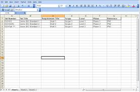 Requirements Template Excel Excel Documents Cognition Support Wiki