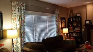 casa bower using target tablecloths to make new window treatments