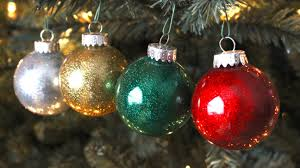 diy best glitter ornaments