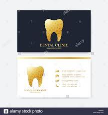 premium business card print template visiting dental clinic card
