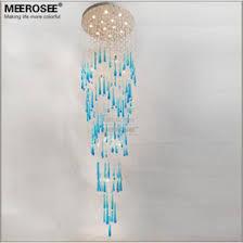 blue crystal chandelier light shop large foyer lighting fixtures uk large foyer lighting