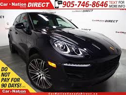 suede porsche used 2016 porsche macan s 21 rims awd leather we want your