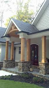 two house plans with front porch best 25 one level house plans ideas on one level