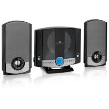 gpx vertical home music system with am fm cd hm3817dtblk the