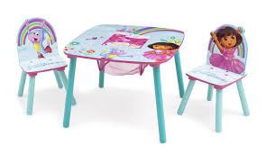 Dora The Explorer Bedroom Furniture by Delta Children Nickelodeon U0027s Dora The Explorer Kids 3 Piece Square