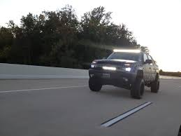 Led Light Bar For Cars by Custom Offsets 50 U2033 Offroad Led Bars Light Bar Added To Our