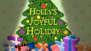 image holly u0027s joyful holiday title card png lalaloopsy land