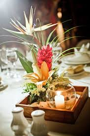 tropical wedding theme best 25 tropical wedding centerpieces ideas on