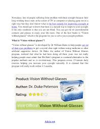 vision without glasses review what is the best home remedies to imp