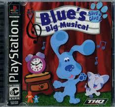 109 5679 sony playstation blue u0027s clues blue u0027s big musical