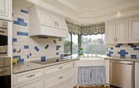 accent tiles for kitchen backsplash accent tile in three kitchens house photos