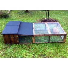 wooden outdoor rabbit hutch sbirulino plus