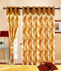 47 off on kart bazaar brown fancy home decor eyelet door curtains