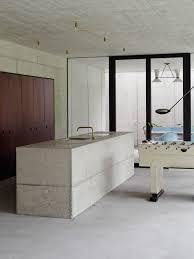 industrial glass door home design industrial terrace with sky blue sleek bending chairs