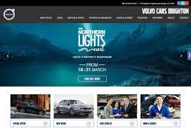 volvo web volvo cars brighton