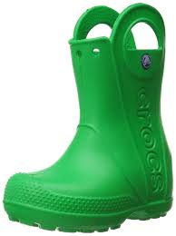 crocs unisex kids u0027 handle rain boots girls u0027 shoes pink camouflage