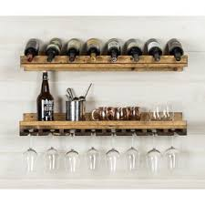 Old Fashioned Spice Rack Rustic Wine Racks You U0027ll Love Wayfair
