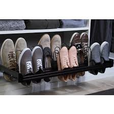 shoe organizer engage pull out shoe organizer with full extension slides by